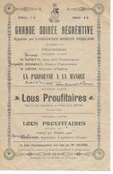 Vieux Papiers Programme (Le Poujol-sur-Orb ?) GRANDE SOIREE RECREATIVE Association Sportive Poujolaise - Programmes