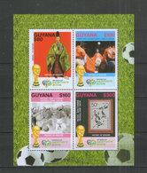 Guyana Block ** Fußball WM 2006 - Fußball-Weltmeisterschaft