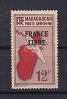 Timbre MADAGASCAR P.A. N° 47**  FRANCE LIBRE - Madagascar (1889-1960)