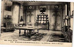 CPA St-Aubin-d'Écrosville - Le Chateau - Salle A Manger (163637) - Saint-Aubin-d'Ecrosville