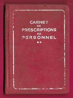 Carnet De Prescriptions Au Personnel De L'Union Technique Des Syndicats De L'Électricité - Publication 504 - Année 1935 - Bricolage / Technique