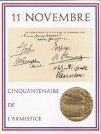 FRANCE - Rare Encart Commémorant Le 11 Novembre 1918 - 14 Pages Recto-verso - 4  Scans - Variedades Y Curiosidades