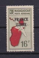 Timbre MADAGASCAR P.A. N° 49**  FRANCE LIBRE - Madagascar (1889-1960)