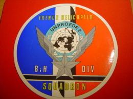 AUTOCOLLANT / ALAT / FORPRONU / AVIATION LEGERE DE L'ARMEE DE TERRE / FRENCH HELICOPTER SQUADRON - Militaria