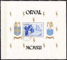 BL11  Grand Bloc Orval - Oblit. - LOOK!!!! - Blocks & Kleinbögen 1924-1960