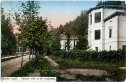 SLOVENSKA  SLOVACCHIA  BÁRFA-FÜRDO  BARDEJOVSKÉ KÚPELE  Karola-villa  Erdo Rèszlettel  Feldpost - Slovacchia