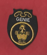ECUSSON Brodé Militaire Génie - Scudetti In Tela