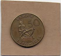 50 REDDER 1976-1981 RUISBROEKSE - Gemeentepenningen