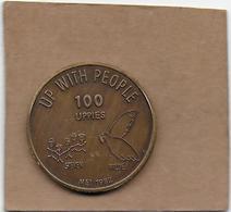 100 UPPIES 1982 ST MARIABURG - Gemeentepenningen