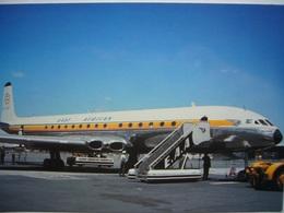 Avion / Airplane / EAST AFRICAN AIRWAYS / DH 106 Comet 4 / Seen At Nairobi Airport - 1946-....: Era Moderna