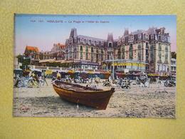 HOULGATE. La Plage Et L'Hôtel Du Casino. - Houlgate