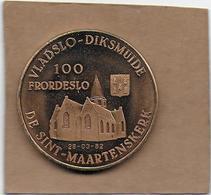 100 FRORDESLO 1982 DIKSMUIDE PERVIJZE DE SINT-MAARTENSKERK - Gemeentepenningen