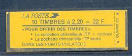 Carnet LIBERTE N° 2376-C4 ** POUR OFFRIR DES TIMBRES - CONF 9 - COTE 18 € - Carnets