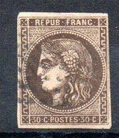 FRANCE - YT N° 47 - Cote: 250,00 € - 1870 Emission De Bordeaux