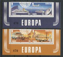 GIBRALTAR 1988 N° 555/558 ** Neufs MNH Superbes C 8 € Europa Bateaux Avions Autocar Transports Communications Boats Plan - Gibraltar