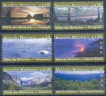 [104486]**//-N° 412/17, Patrimoine Mondial, Etats-Unis, Parc National De Yosemite, Great Smoky Mountains, Olympic, Volca - Neufs