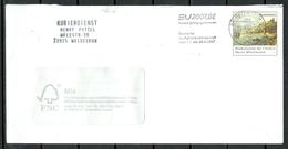 Deutschland BRD 2007 Kurierdienst Henry Pyttel Ganzsache Pre-stamped Stationery Cover EU-Ratspräsidentschaft Nebenstempe - Enveloppes - Oblitérées