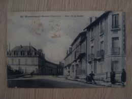 CPA MOUTHIERS-SUR-BOËME 16 RUE DE LA POSTE - France