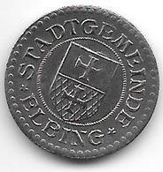 *notgeld Ebling 2 Pfennig    1918 Fe   3616.2 / F112.2a - [ 2] 1871-1918 : Empire Allemand