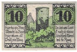 Deutschland Germany Notgeld 10 Pfennig Mehl1162.1 SALZWEDEL /68M/ - [11] Emissions Locales