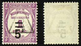 N° TAXE 65 5F/1F Lilas Oblit TB Cote 17€ - 1859-1955 Oblitérés