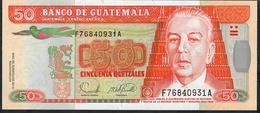 GUATEMALA P113a 50 QUETZALES 2006  UNC. - Guatemala