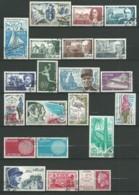 FRANCE: Obl., N° YT 1621 à 1662 + PA 44, Année 1970 Complète, TB - 1970-1979
