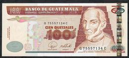GUATEMALA P114b 100 QUETZALES 2007 UNC. - Guatemala