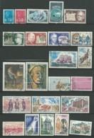 FRANCE: Obl., N° YT 1663 à 1701 + PA 45 Et 46, Année 1971 Complète, TB - 1970-1979