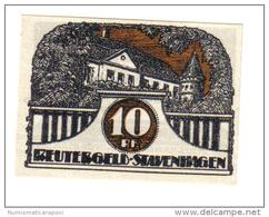 Germania Gemany Stavenhagen 1921 Notgeld  LOTTO 1316 - Germania