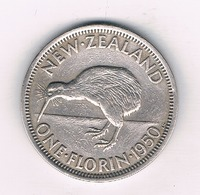 ONE FLORIN 1950 NIEUW ZEELAND /6356/ - Neuseeland