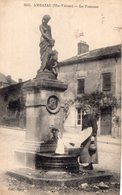 S2575 Cpa 87 Ambazac - La Fontaine - Ambazac