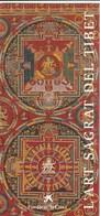 L'ART SAGRAT DEL TIBET - FUNDACIÓ LA CAIXA - 1996-1997 - Folletos Turísticos