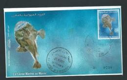 Fdc Maroc Yvert N° 1289 , Obli 1er Jour Meknes 29/10/2001     -   Aoa 19404 - Marruecos (1956-...)