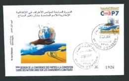 Fdc Maroc Yvert N° 1293 , Obli 1er Jour Meknes 28/09/2001     -   Aoa 19406 - Marruecos (1956-...)