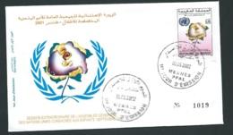 Fdc Maroc Yvert N° 1304 , Obli 1er Jour Meknes  08/05/2002  -   Aoa 19410 - Marruecos (1956-...)