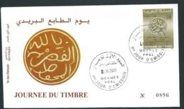 Fdc Maroc Yvert N° 1291 , Obli 1er Jour Meknes  03/10/2001  -   Aoa 19416 - Marruecos (1956-...)