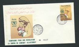 Fdc Maroc Yvert N° 1054 OBLITERE 1er Jour Meknes 18/07/1988- Aoa19429 - Marruecos (1956-...)