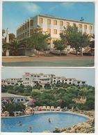 ^ OLBIA HOTEL JOLLY ROMAZINO COSTA SMERALDA PANORAMA 2 CARTOLINE 188a - Olbia