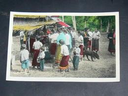 LAOS 1950  / INDOCHINE TONKIN / XIENG  KHOUANG  /  PHOSAVAN  / FETE DU VILLAGE   / EDITION - Laos