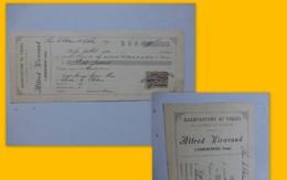 86 Usson-du-Poitou, 1899, Lettre De Change A. VIRAGAUD, Usine De Toiles, Ref 591 ; PAP06 - Frankreich