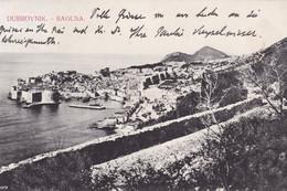 Dubrovnik (Ragusa) * Festung, Hafen, Strand, Stadt, Gesamtansicht * Kroatien * AK258 - Kroatië