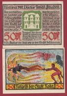 Allemagne 1 Notgeld De 50 Pfenning Stadt Roda In Wintenburg (RARE) Dans L 'état N °4563 - [ 3] 1918-1933 : República De Weimar