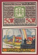 Allemagne 1 Notgeld De 50 Pfenning Stadt Roda In Wintenburg (RARE) Dans L 'état N °4564 - [ 3] 1918-1933 : República De Weimar