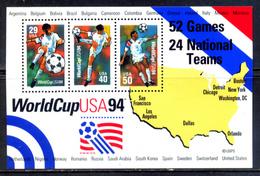 USA 1994 Estados Unidos / Football Soccer FIFA World Cup USA MNH Futbol Mundial De Estados Unidos / C5022  37-11 - 1994 – Stati Uniti