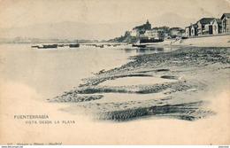 ESPAGNE  FUENTARRABIA  Vista Desde La Playa   ..... - Guipúzcoa (San Sebastián)