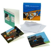 TINTIN - Set De 8 Mini Cartes - 7,5 X 7,5 Cm - Neuf Emballage D'origine Non Ouvert. - Cartes Postales