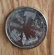 3277 Vz Antwerp Antwerp Brussels(Atomium) Brussels Brussels Bruges Ghent - Kz Belgian Heritage Collectors Coin - België