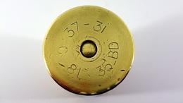 Douille D'obus De 37mm Modèle 1931 Française - Inerte - 1939-45