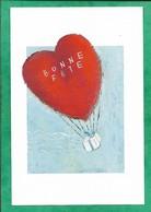 Bonne Fête Coeur Ballon Cadeau 2scans - Saint-Valentin